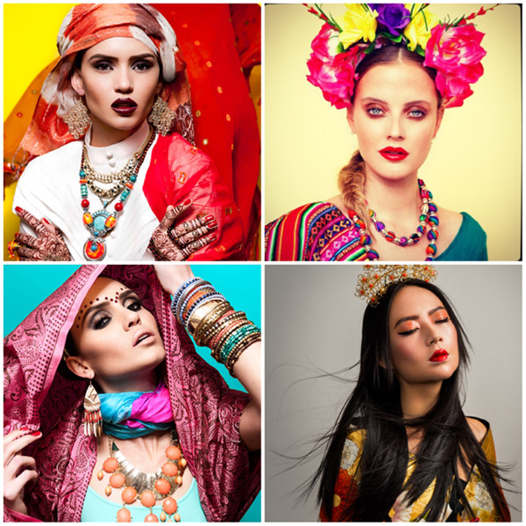 """beauty ideals around the world Last year, journalist esther honig published a viral series of images showing how photo retouchers in 27 countries around the world """"enhanced"""" a portrait of her according to their cultural."""