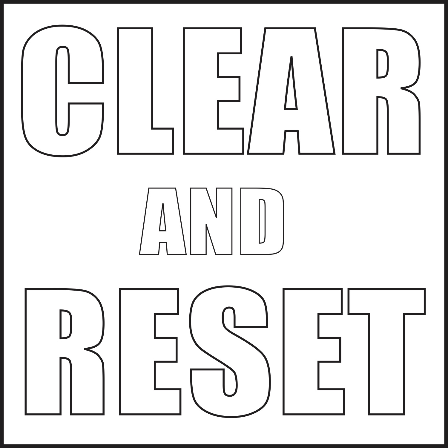 Clear and Reset with Sarah Rigano