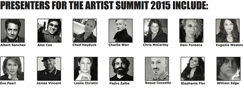 The Artist Summit 2015 Presenters