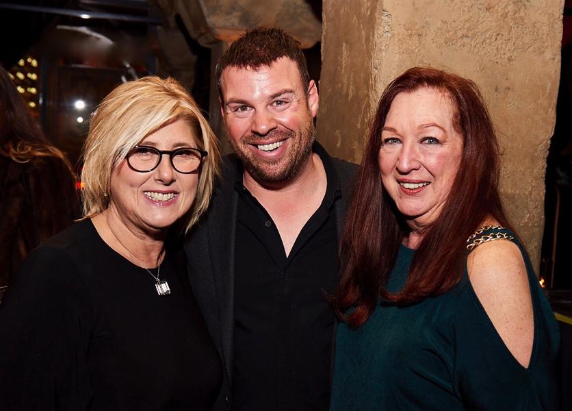 Allen Goldman, Deb Milley, and Sue Cabral Ebert